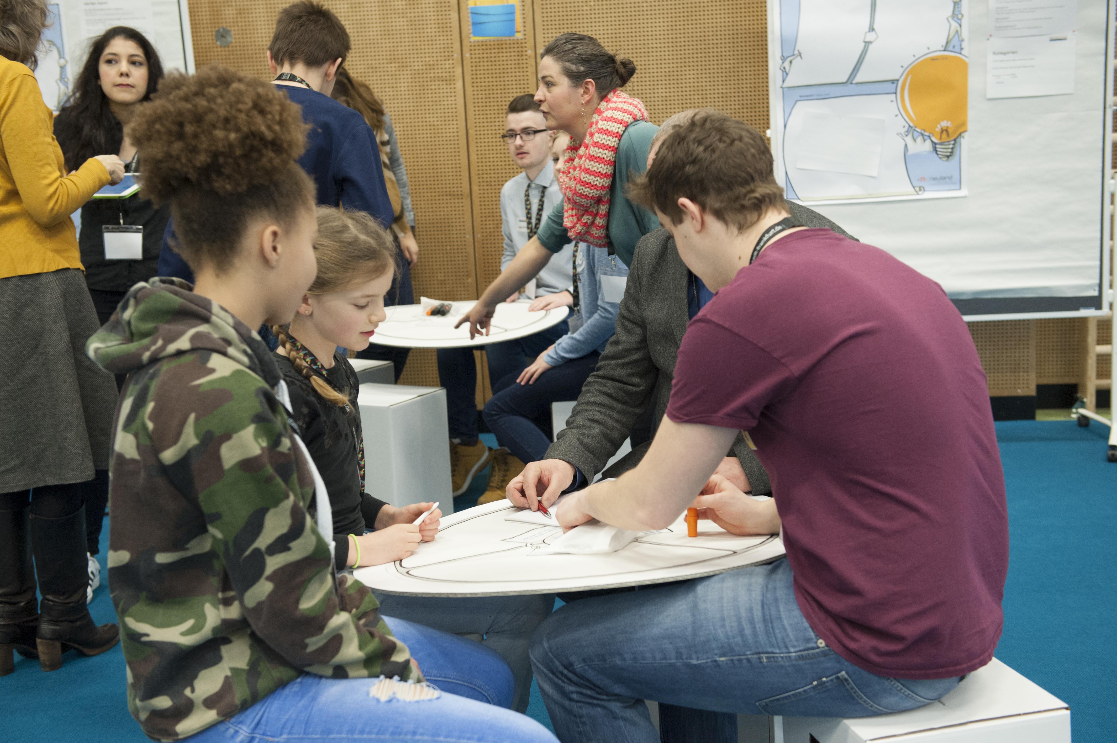 Fragen an kinder und jugendliche frankfurt macht schule for Mode und bekleidung schule frankfurt