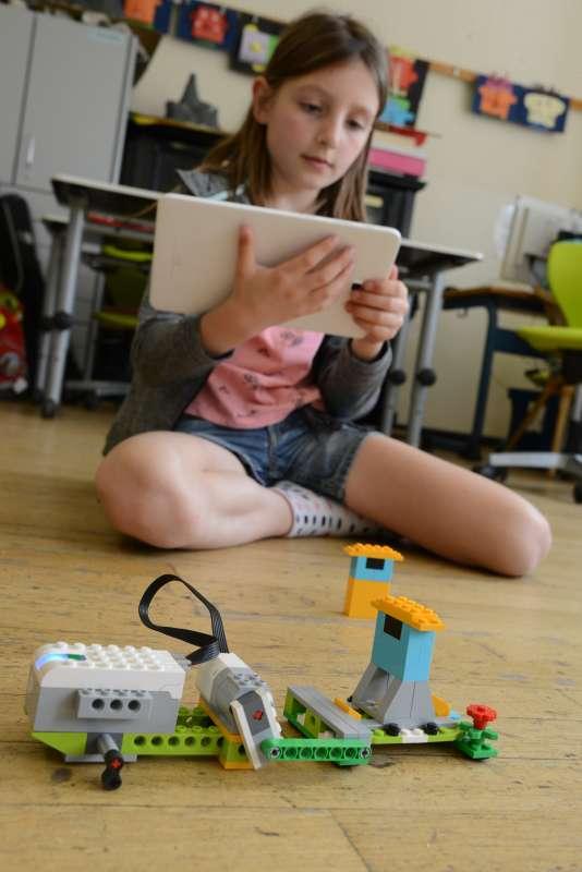 Entwickeln in der Lego - Robotic AG