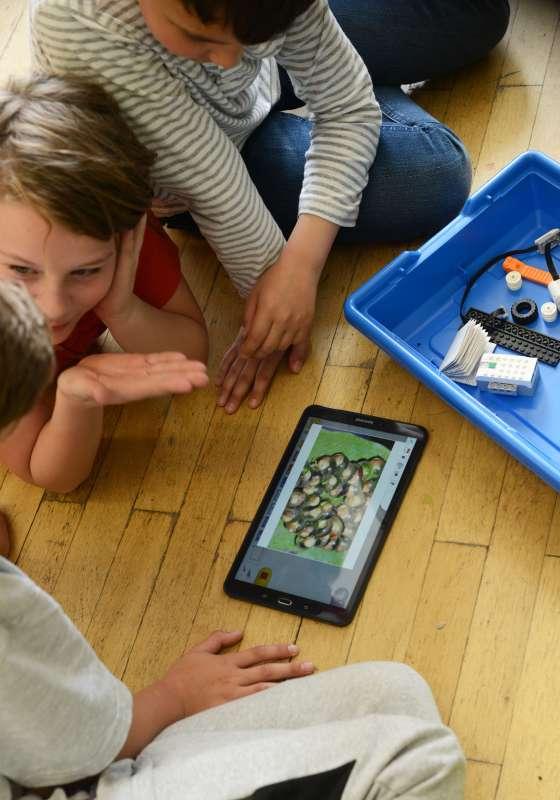 Beraten in der Lego - Robotic AG