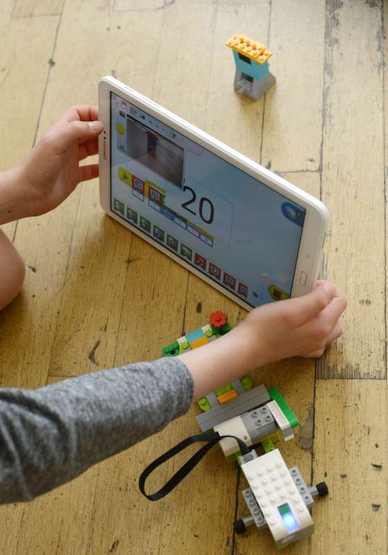 Programmieren in der Lego - Robotic AG