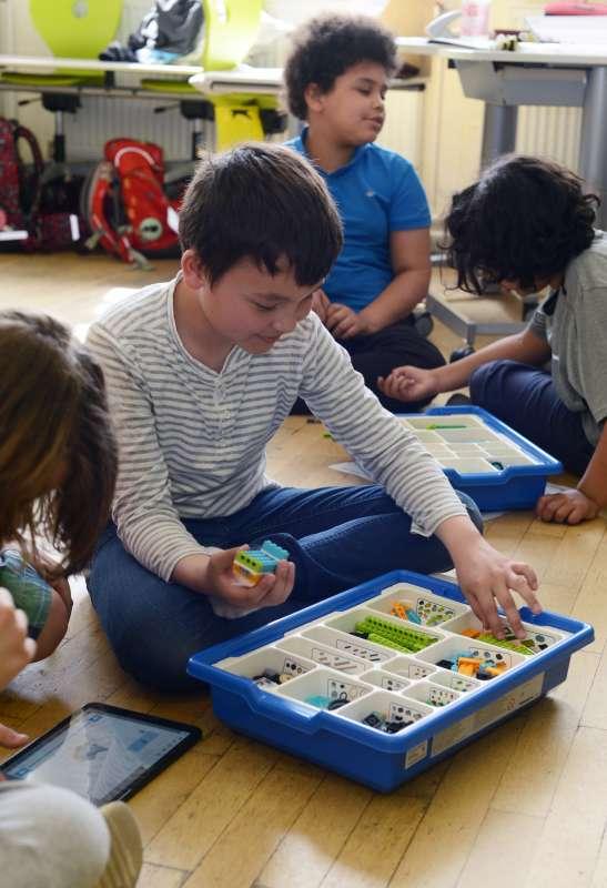 Bauen in der Lego - Robotic AG